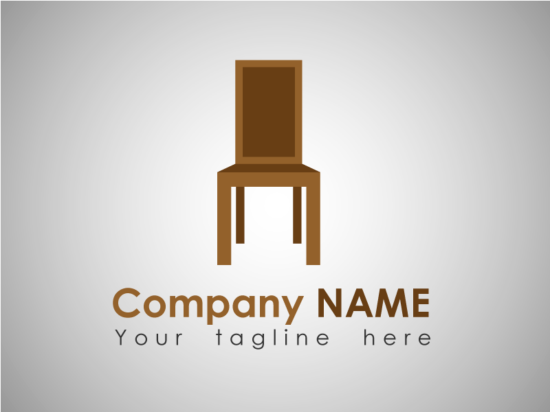Furniture Company Logo Template