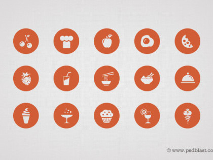 50 Food Icons