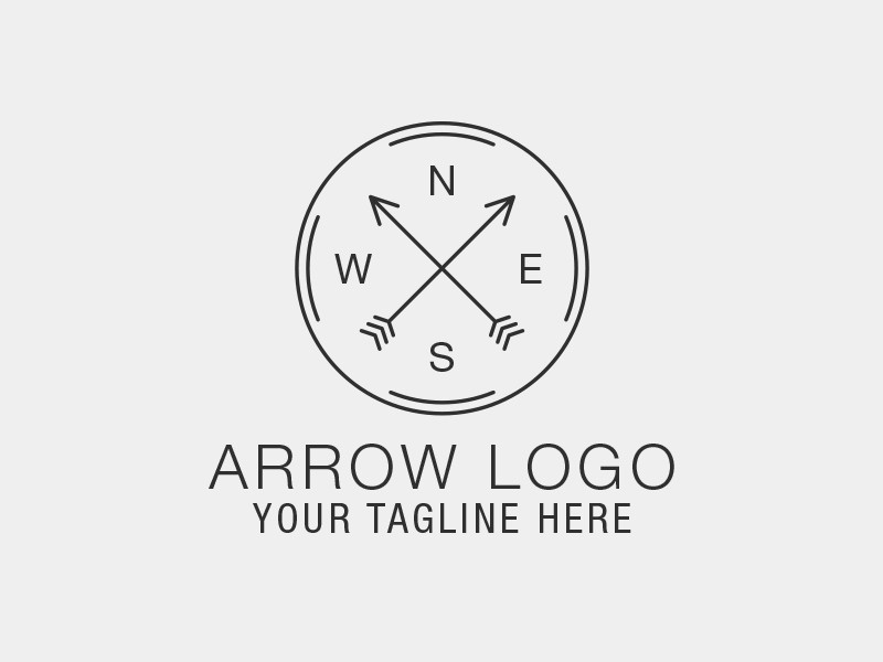 arrow logo template rainbowlogos