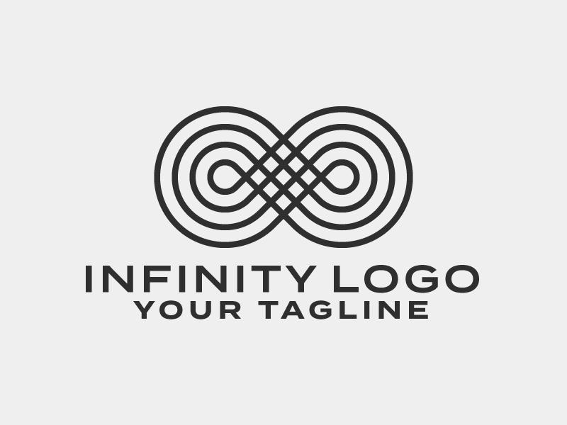 Infinity Symbol Logo Template Rainbowlogos