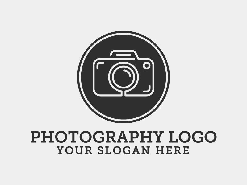 Photography Logo Template | RainbowLogos