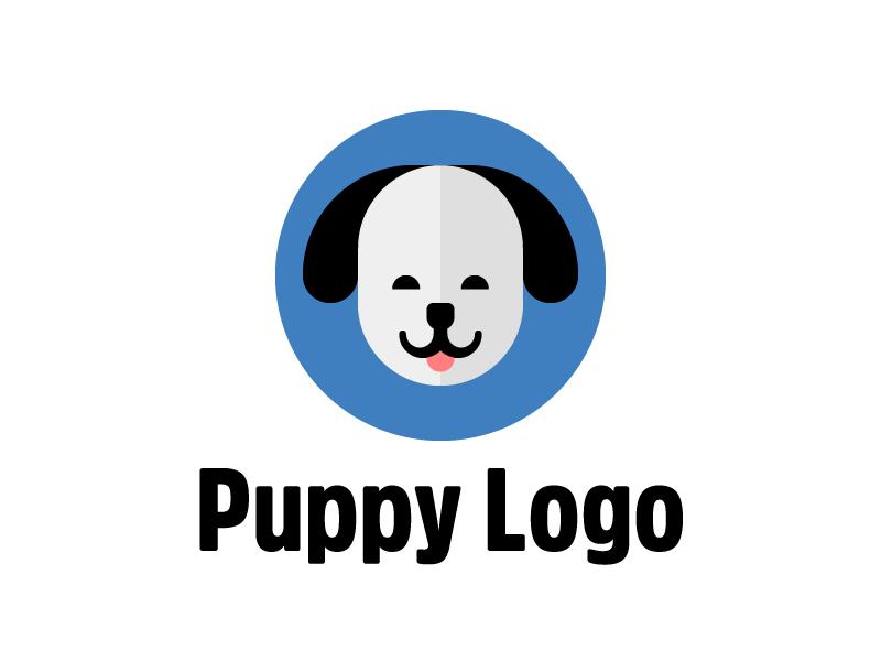 puppy logo template rainbowlogos health and wellness logo design health and wellness logo ideas